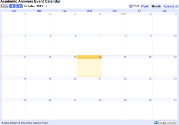 <!-- home page feature box -->Calendar